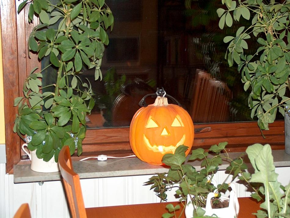 Our inside pumpkin