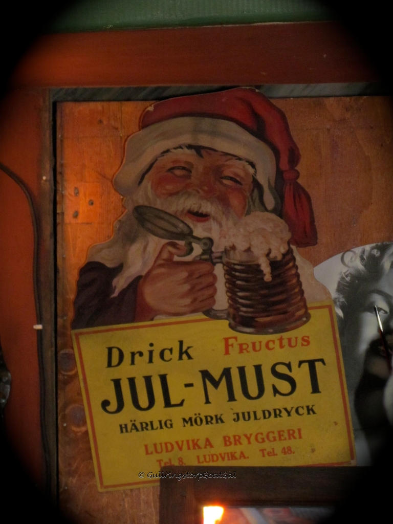 Jul Must is a Swedish  traditional cold holiday beverage that has a taste that resemble root beer