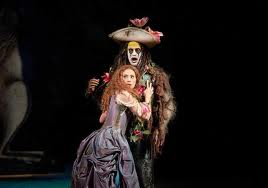 Caliban was in absolute delightful heaven with his new love Helena