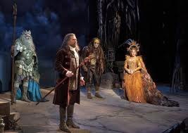 Neptune speaks of forgiveness to both sycorax and Prospero
