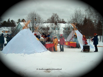 Look familiar? Yes the Sami have traditional tee pees just like the Native Americans