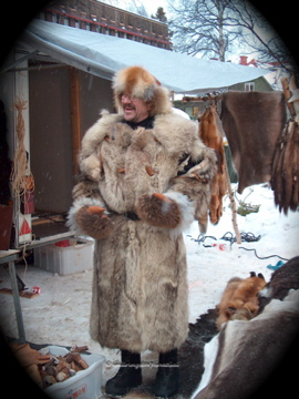 Furs may be politically incorrect in some places , but here in the north of Sweden, they are needed for warmth against the frigid temperatures