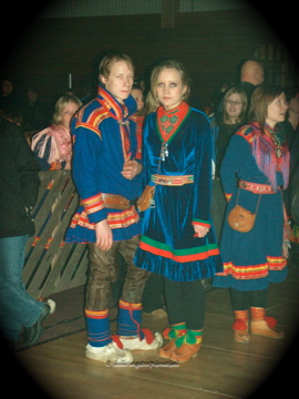 Sami traditional dress