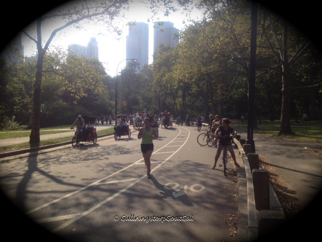 Active people in Central Park