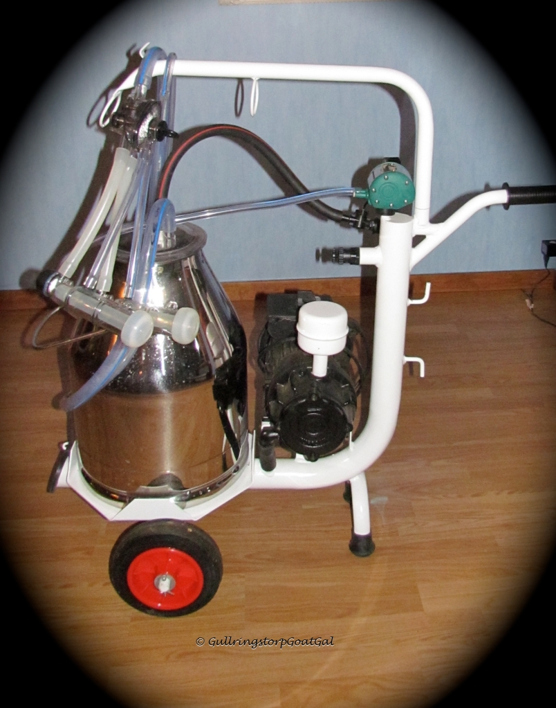 Now this is the real beauty!! Isn't my new Schlauerbauer Milking Machine fro, Germany something?