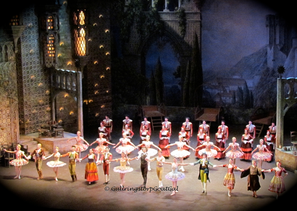 Curtain call at the ballet