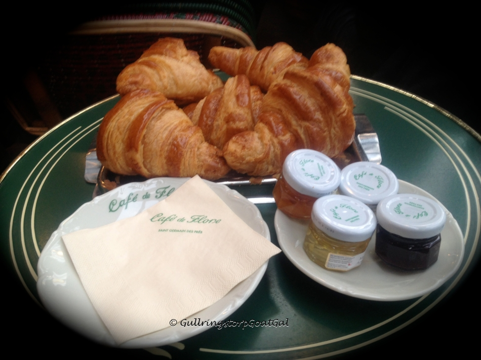 Breakfast at Cafe Flore