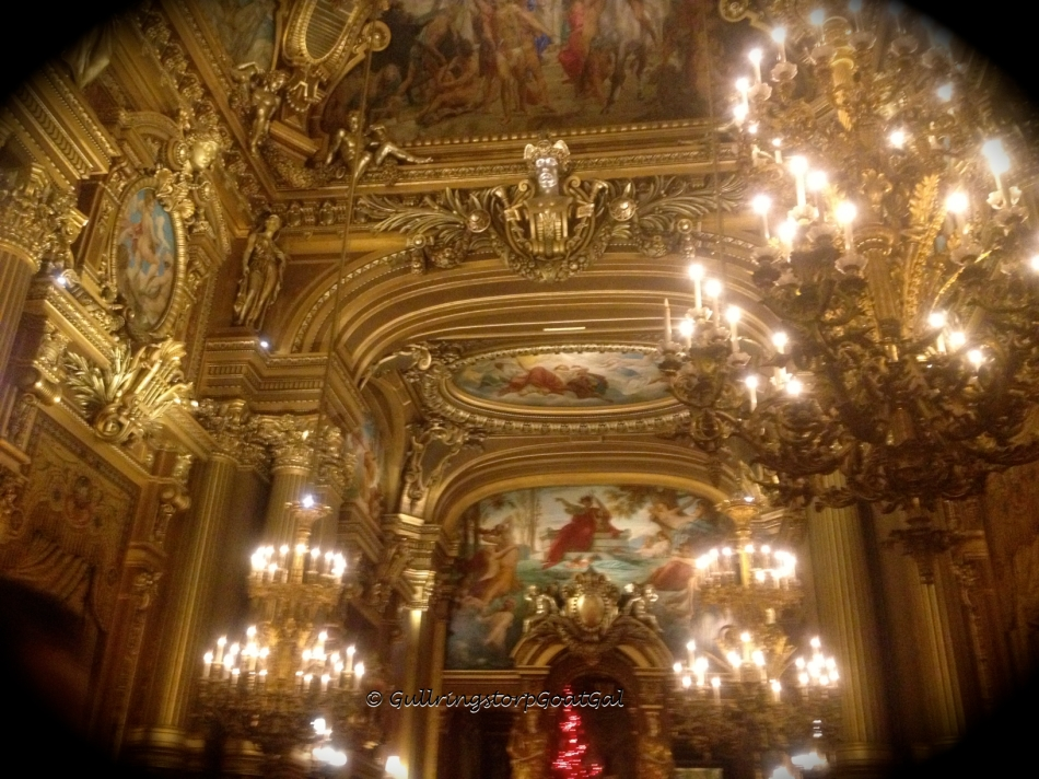Inside the Paris Opera