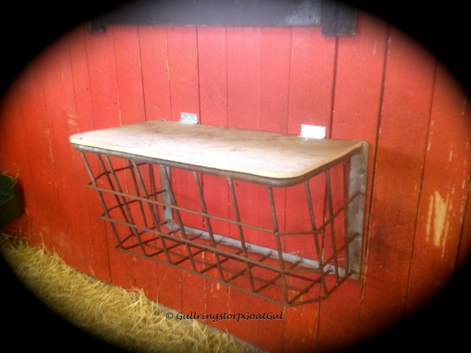 Leif hand cut the lids to fit. the racks were modified to keep our goats safe.