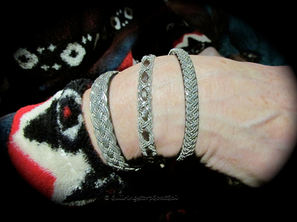 These are bracelets made by Sweden's indigenous people, the Sami